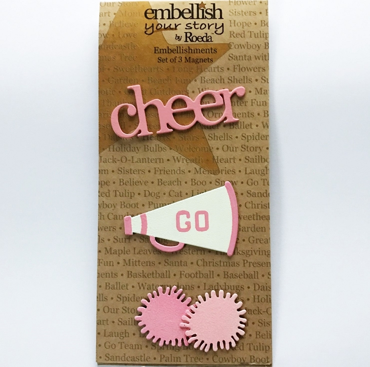 g311 3pc. Cheer Magnets (ea.)