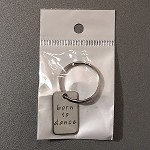 kc15b Born To Dance Key Chain (ea.)