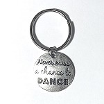 kc19 Never Miss A Chance To Dance Key Chain (ea.)