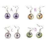 ea12 15mm Ballerina Dangle Earrings (pr.)