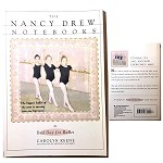 889780671879488 The Nancy Drew Notebooks-Bad Day For Ballet Mystery books (2pc.) $5.99 Cover Price