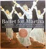899781596433380 Ballet For Martha-Making Appalachian Spring Hardcover Books (2pc.) $18.99 Cover Price