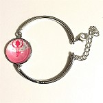 br57 Adjustable Circle Ballerina Girl Bangle (ea.)