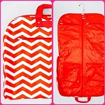 db124 Chevron Print Garment Bag (ea.)