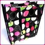 db60 Polka Dot Tote Bag w/Coin Purse (ea.)