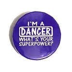 g418 I Am A Dancer What's Your Superpower?   Sugar Free Peppermints (ea.)