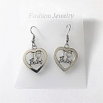 ea01 I LOVE BALLET Earrings (pr.)