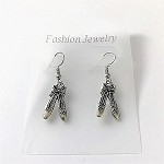 ea02 Ballet Slippers Earrings (pr.)