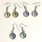 ea05 10mm Ballerina Dangle Earrings (pr.)
