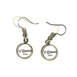 ea10 10mm I DANCE Dangle Earrings (pr.)