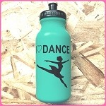g229 Turquoise I Love Dance Jete Print 20oz. Bottle (ea.)