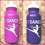 g231 I Love Dance Jete Print 20oz. Bottle (ea.)