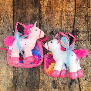 "g437 8"" Miss Unicorn Ballerina Plush Ballerinas w/Tote (2pc.) Back in Stock!"
