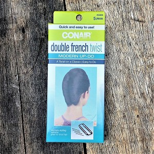 ha298 CONAIR Double French Twist (ea.) Buy one, get one free!