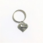 kc09 I Love Dance Key Chain (ea.)