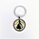 kc12F Ballerina Key Chain (ea.) Buy one, get one free!