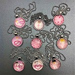n70 Ballerina Necklaces (6pc.) (Assorted Prints-Usually they are $6.50/ea.)