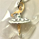 ra107 Rhinestone Ballet Necklace (ea.)