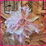 scr47 Pink Tinkerbell Scrunchie (ea.)