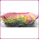 skt60 Toddler Reversible Five Color Sequin Mesh Tutu (ea.)
