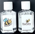 g474b Bee Safe Ballerina 1oz. Hand Sanitizers (100pc. Min.) Lightly Citrus Scented