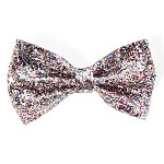 ha314 Scunci Glitter Alligator Clip Bow (ea.)