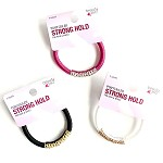 932764 Beauty 360 Strong Hold Ponytailers (3pc.)