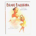 103971 Janet Collins-The Brave Ballerina Hardcover Books (2pc.) $17.99 Cover Price