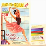 949781534409743 You Should Meet Misty Copeland-Level 3 Reader Books (2pc.)