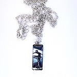 n81 Small Ballerina Pendant Necklace (ea.)