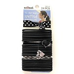39814A Scunci No Damage Knotted Ponytailers (24pc.)