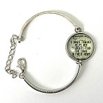 br65 Adjustable Circle Dance Teacher Bangle (ea.)