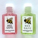 g472 Lightly Scented BEE SAFE 1/2oz. Hand Sanitizer (ea.)