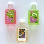 g473 Lightly Scented Floral Print BEE SAFE 1/2oz. Hand Sanitizer (ea.)