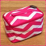 db139 Sm. Chevron Print Cosmetic Bag (ea.)