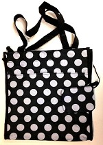 db76 Polka Dot Tote Bag w/Coin Purse (ea.)