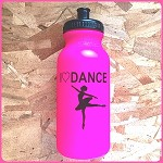 g225 Hot Pink I Love Dance Arabesque Print 20oz. Bottle (ea.)