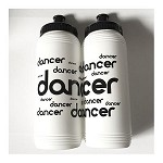 g294 Black/White DANCER Print 16oz. Bottle (ea.)