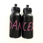 g304 Hot Pink & Black DANCER Print 20oz. Bottle (ea.)