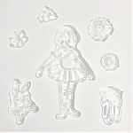 g336 Silicone Ballerina Window Decals (ea.)