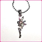 n01 Rhinestone Fairy Necklace (ea.)