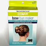 bc83 CONAIR Bow Bun Maker Kit (ea.) Buy one, get one free!