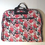 db215 Roses Print Garment Bag (ea.)