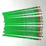 g271 Green I LOVE DANCE Pencil (ea.)