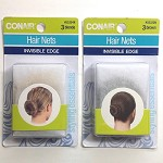 ha234 CONAIR 3pc. Hair Nets (pkg.)
