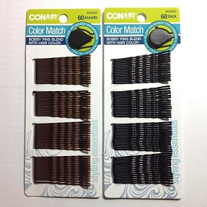 "ha02 CONAIR Bobbi Pins 2"" (60pc.)"