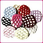 Keep your young dancer's hair neatly in a bun with these high quality rhinestone bun covers.
