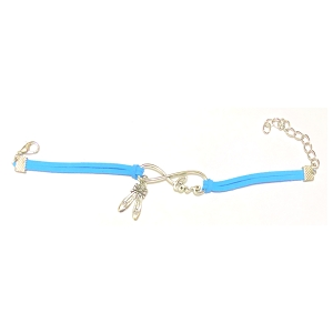 Celebrate her love of dance with this sweet bracelet boasting a trend-right charm and a pop of color. 7