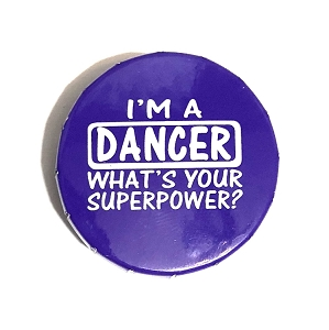 Freshen your breath with a dancer mint! Peppermints come in a purple tin.