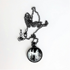 n61 Multi Ballerinas Necklace (ea.)
